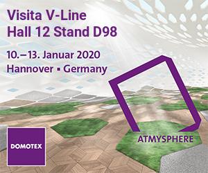 V-Line Domotex Hannover 2020